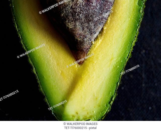 Close up of avocado