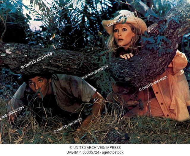 Africa Express, (AFRICA EXPRESS) D 1975, Regie: Michele Lupo, GIULIANO GEMMA, URSULA ANDRESS, Stichwort: Deckung, Versteck
