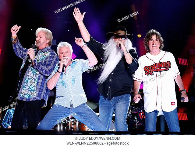 2015 CMA Music Festival at LP Field Day 2 in Nashville, TN Featuring: The Oak Ridge Boys Where: Las Vegas, Nevada, United States When: 13 Jun 2015 Credit: Judy...
