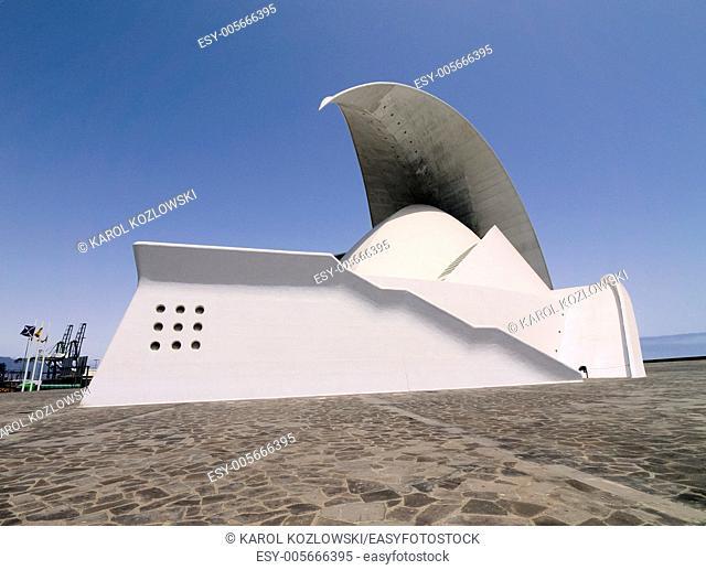 Auditorium in Santa Cruz de Tenerife, Canary Islands, Spain