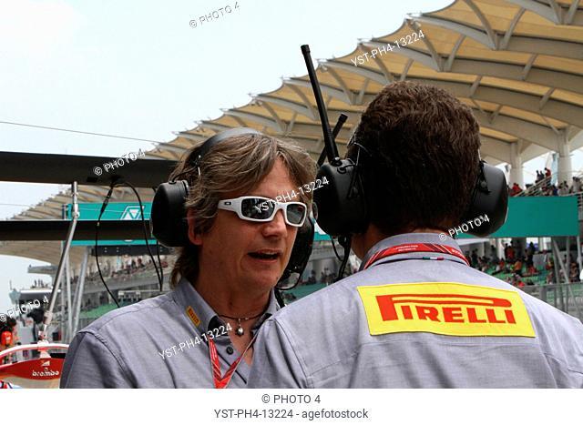 Staff Pirelli, Malaysian Grand Prix, Sepang, Malaysia