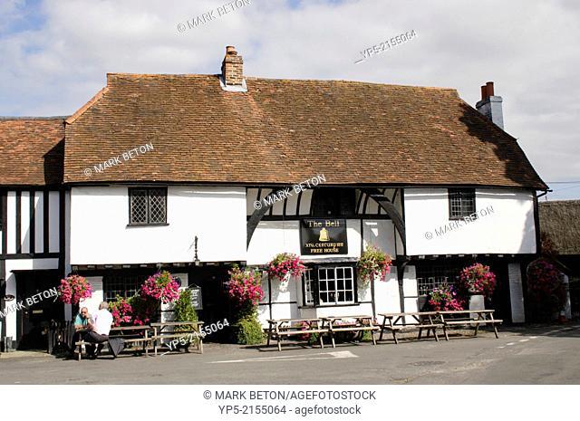 The Bell Pub Waltham St Lawrence Berkshire England