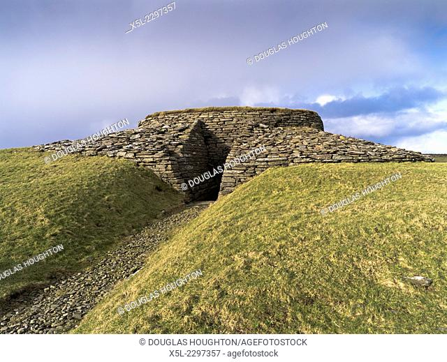 Elsness SANDAY ORKNEY Quoyness chambered cairn neolithic burial