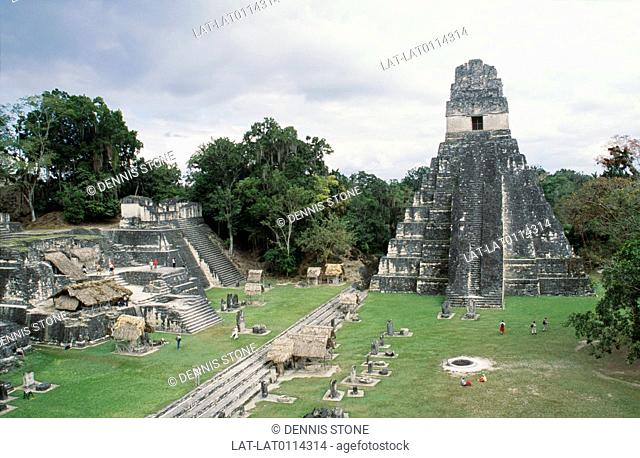 Tikal is the largest of the ancient ruined cities of the Maya civilization. The site dates back to 4th century BC,although it is thought the site did not reach...