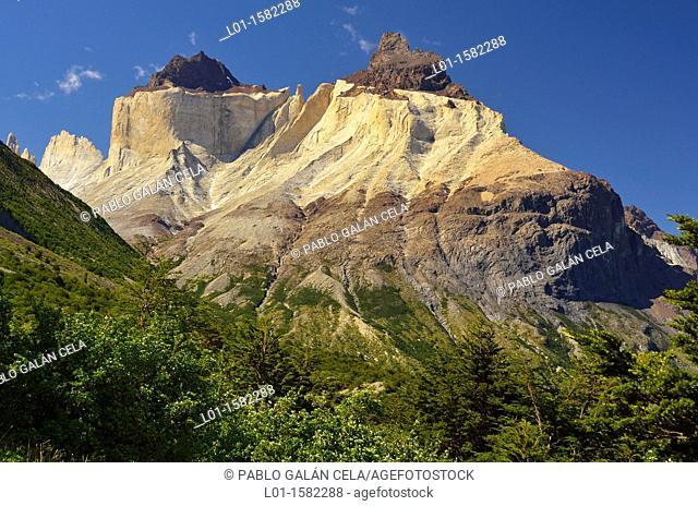 Cuernos del Paine, Parque Nacional Torres del Paine, Chile