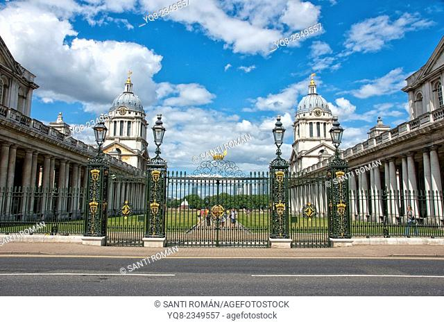 Royal Naval College, Greenwich, London, England, UK