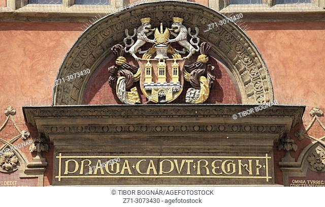 Czech Republic, Prague, Old Town Hall,