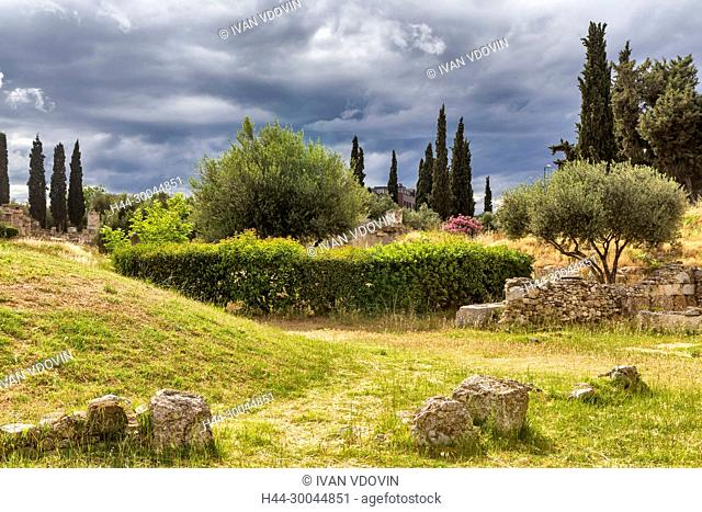 Kerameikos archaeological site, Athens, Greece