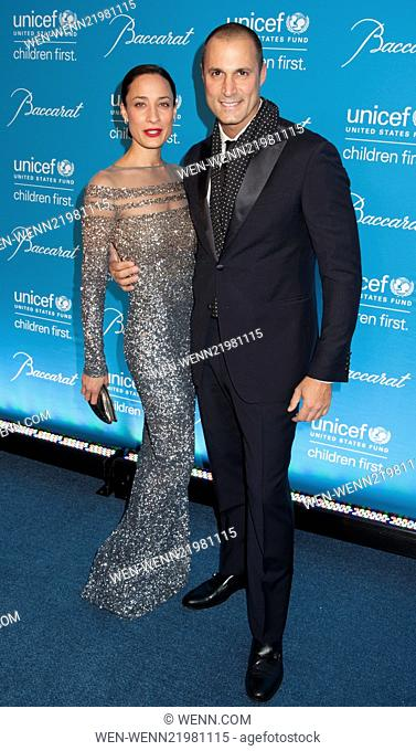 Unicef Snowflake Ball 2014 Featuring: Nigel Barker,Chrissy Barker Where: New York, New York, United States When: 02 Dec 2014 Credit: WENN.com