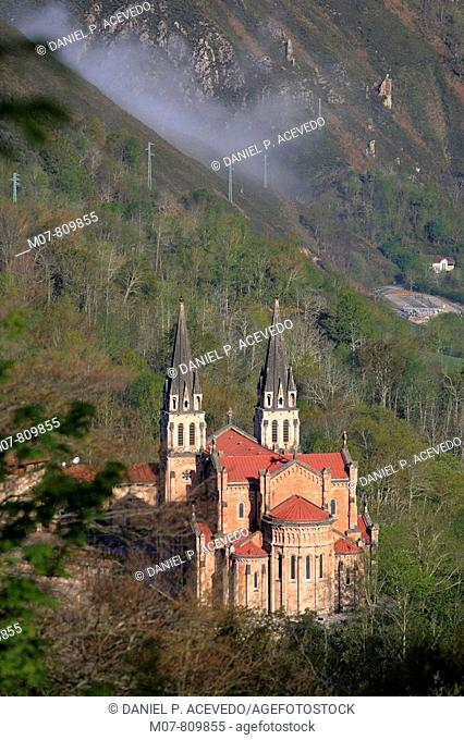Covadonga historical site, Asturias, North Spain