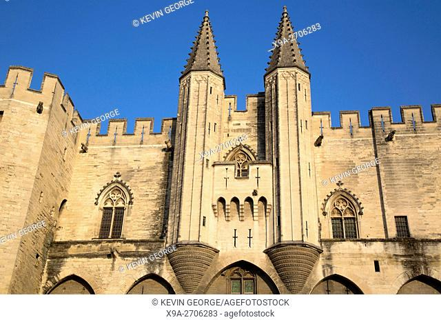 Palais des Papes - Palace of the Popes, Avignon, France