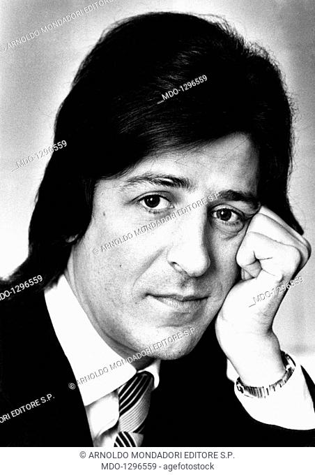 gi io gaber stock photos and images age fotostock 1970s Female Vocalists portrait of the italian singer songwriter and actor gi io gaber