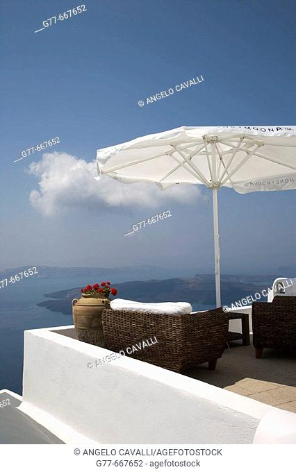 Greece. Cyclades Islands. Santorini. Oia