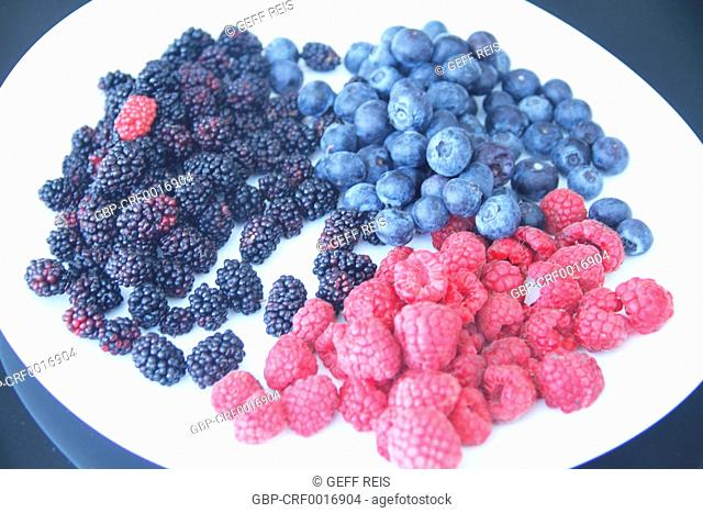 Blackberry, raspberry, blueberry, fruit, São Paulo, Brazil