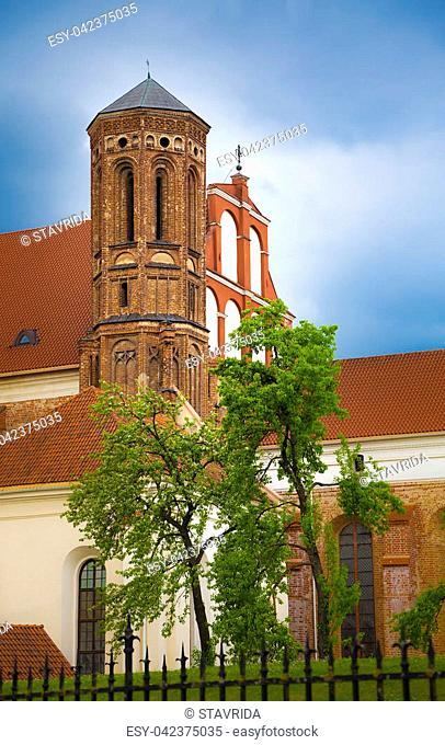 The Church of St. Francis and St. Bernard (also known as Bernardine Church) is a Roman Catholic church in the Old Town of Vilnius, Lithuania