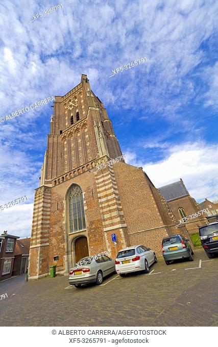 St. Martin's Church, Woudrichem, Noord-Brabant Province, Holland, Netherlands, Europe