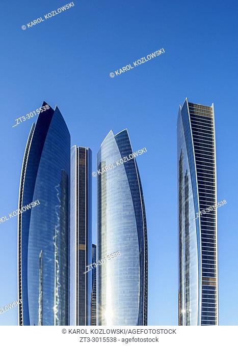 Etihad Towers, Abu Dhabi, United Arab Emirates