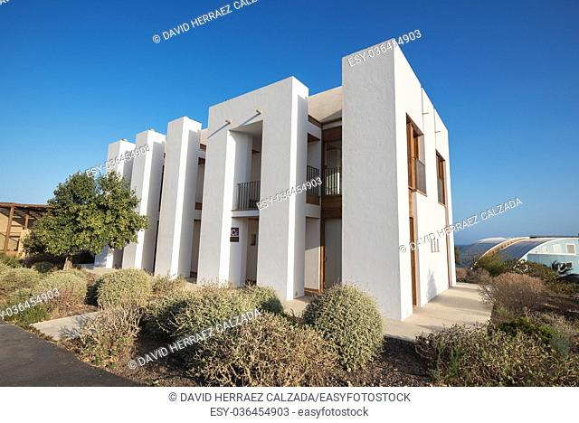Bioclimatic Houses in the South of the island of Tenerife. Has been conceived as a laboratory of different bioclimatic techniques and for the integration of...