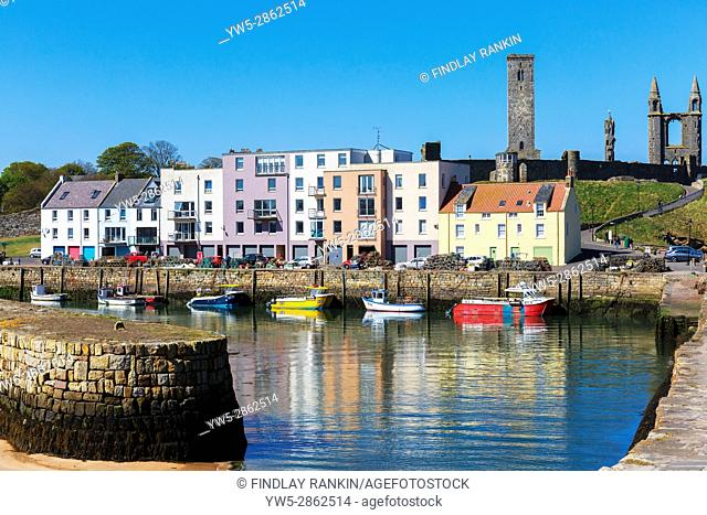 Harbour at St Andrews, Fife, Scotland