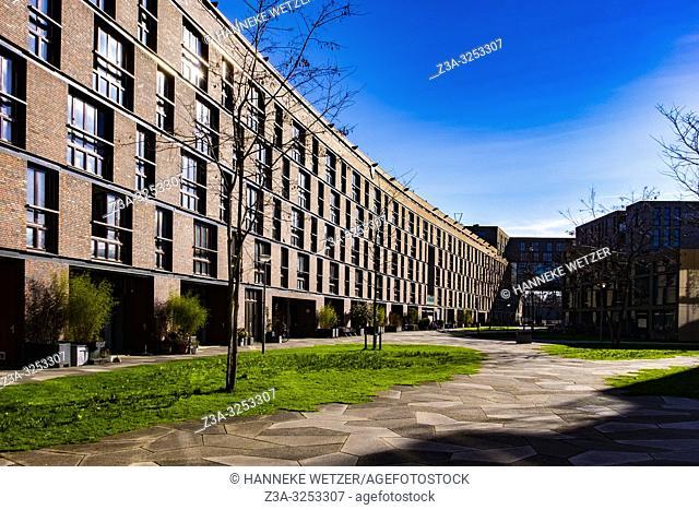 Modern architecture at Funenpark, Amsterdam, the Netherlands, Europe