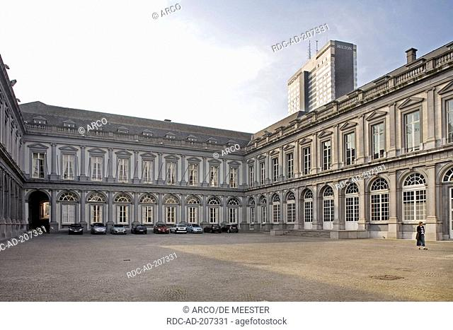 Egmont Palace, Brussels, Belgium, Palais d'Egmont, residence of Belgian Foreign minister