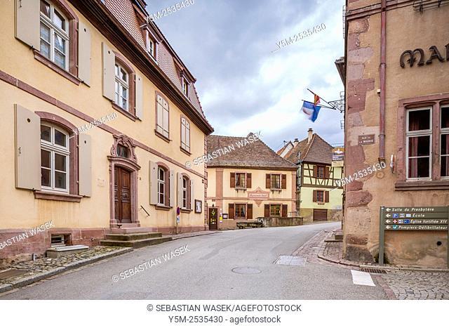 Hunawihr, Haut-Rhin, Alsace, France, Europe