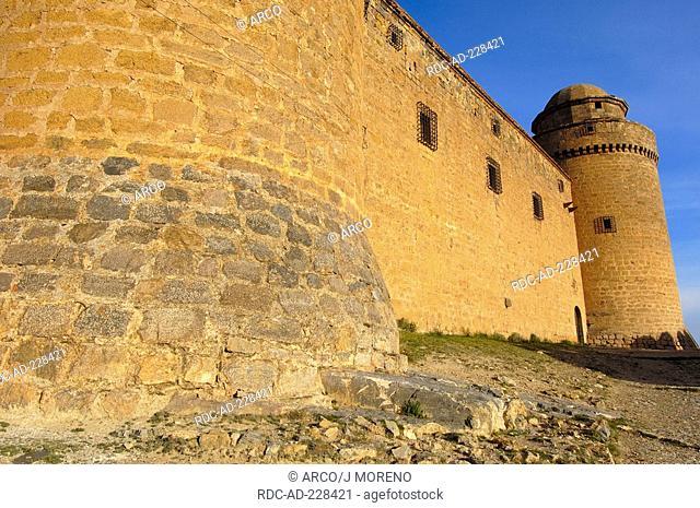 Castle, La Calahorra, Granada province, Andalusia, Spain