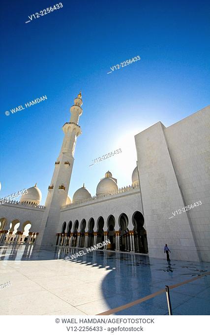 Sheikh Zayed bin Sultan al-Nahyan Mosque, Abu Dhabi, United Arab Emirate