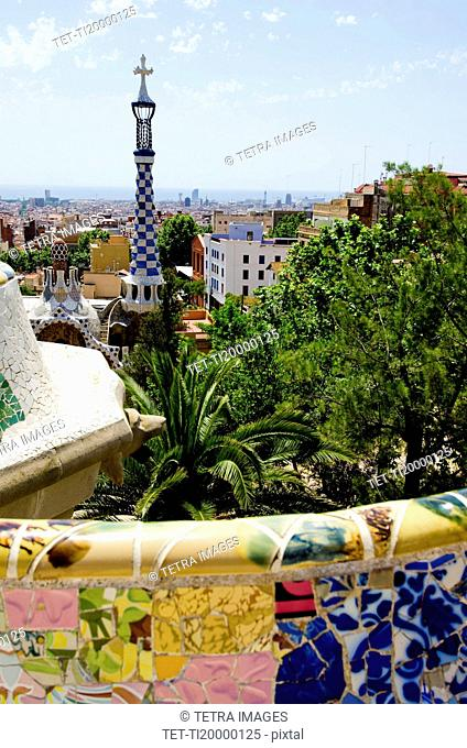View of Park Guell