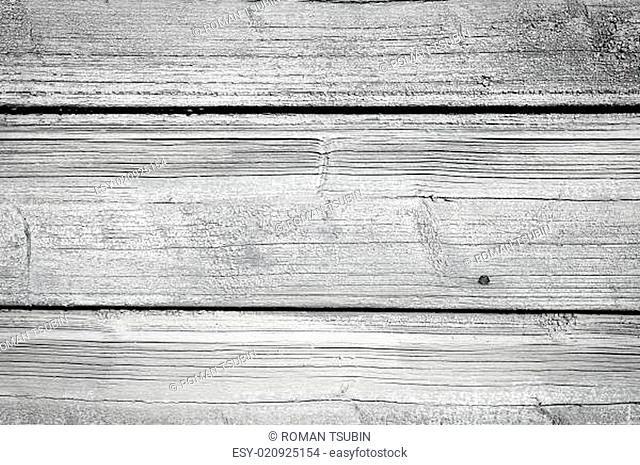 Old wooden painted and chipping paint
