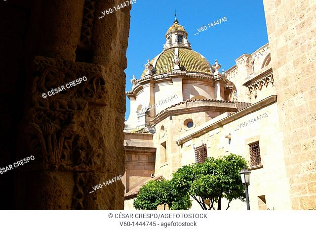 -Tarragona's Cathedral Outdoors- Spain