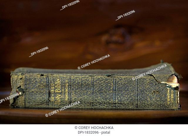Weathered Antique Bible