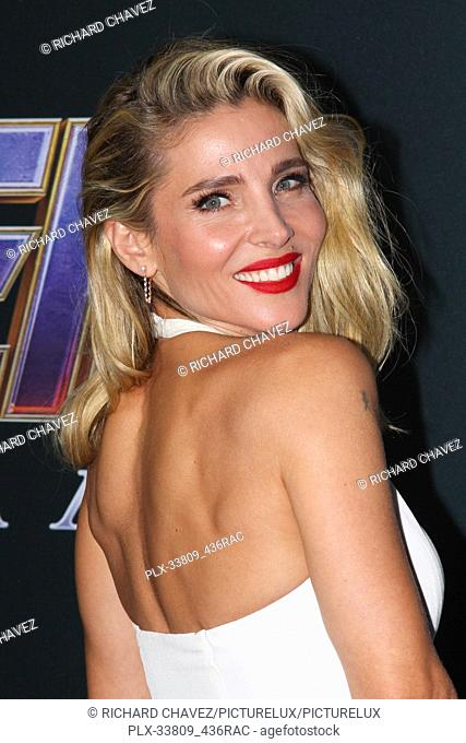 """Elsa Pataky at the Marvel Studios World Premiere of """"""""Avengers Endgame"""""""". Held at the Los Angeles Convention Center in Los Angeles, CA, April 22, 2019"""