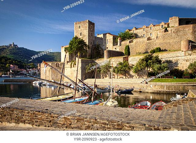 Royal Castle in Collioure, Languedoc-Roussillon, France