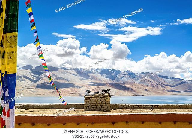 Nomad summer festival in Tso Moriri lake, Ladakh (India)
