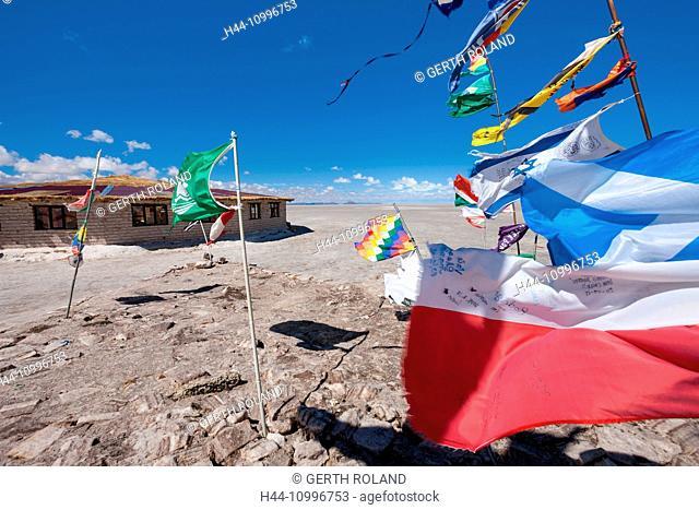 Salar de Uyuni, Bolivia, Altiplano, salt desert
