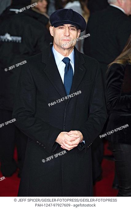 Mark Strong attends the 'Star Wars: The Last Jedi' European premiere at Royal Albert Hall on December 12, 2017 in London, Great Britain