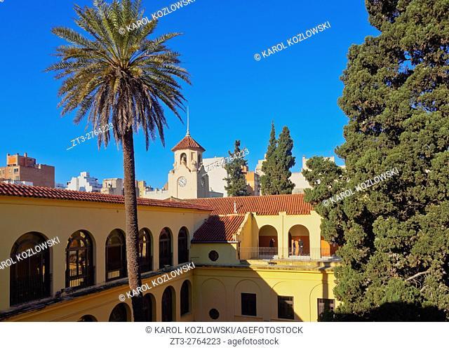 Argentina, Cordoba, Manzana Jesuitica(Jesuit Block), View of the Monserrat High School