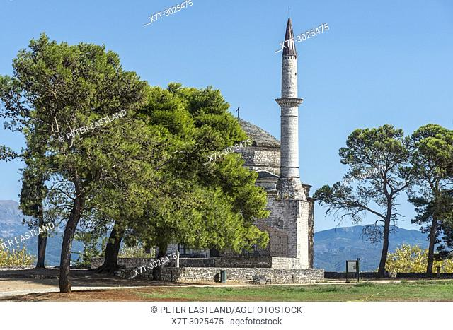 the Fethiye mosque In the grounds of the Citadel at Ioannina , Epirus, Northern Greece