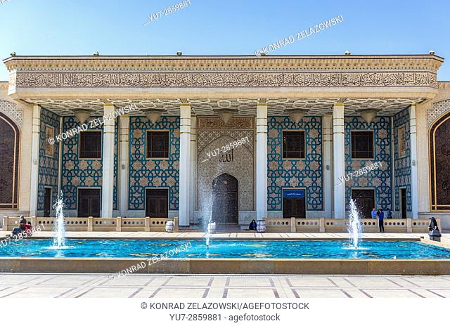 Part of the complex of mosque and Mausoleum of Shah Cheragh in Shiraz city, capital of Fars Province in Iran
