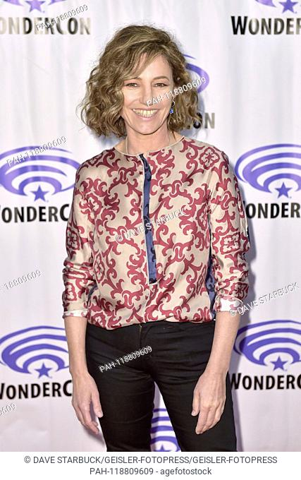 Orla Brady at the Photocall for the AMC TV series 'Into the Badlands' at WonderCon 2019 at the Anaheim Convention Center. Anaheim, 29.03