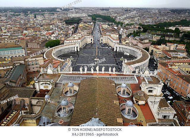 St. Peters' square, vatican city, Rome