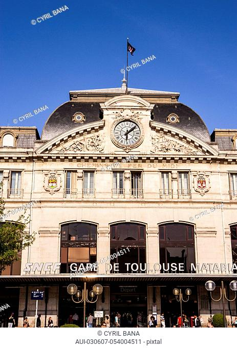 France, Toulouse, [Matabiau station], front view