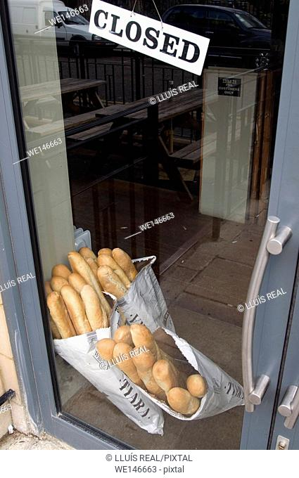 Bakery, Bread, Baguette, Closed