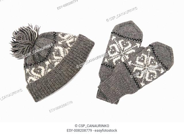 Cap and gloves