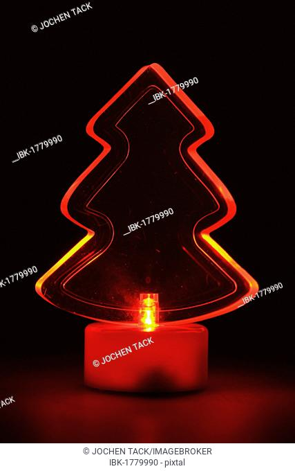 Lighted Christmas decoration, LED lighting
