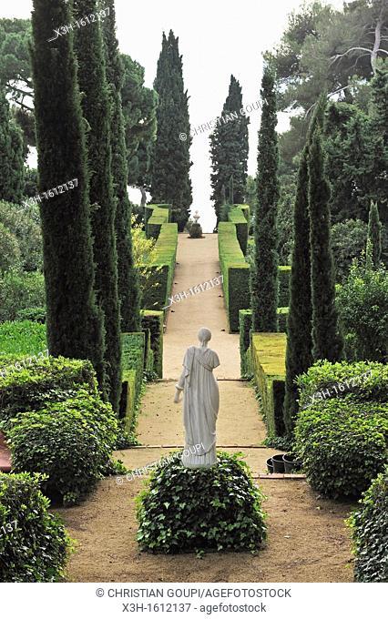 Gardens of Santa Clotilde designer:Nicolau Rubio i Tuduri Lloret de Mar, province of Girona, autonomous community of Catalonia, Spain, Europe