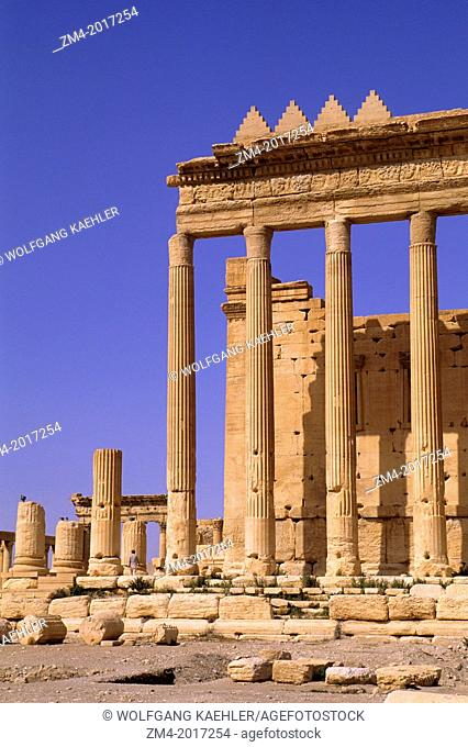 SYRIA, PALMYRA, ANCIENT ROMAN CITY, TEMPLE OF BEL