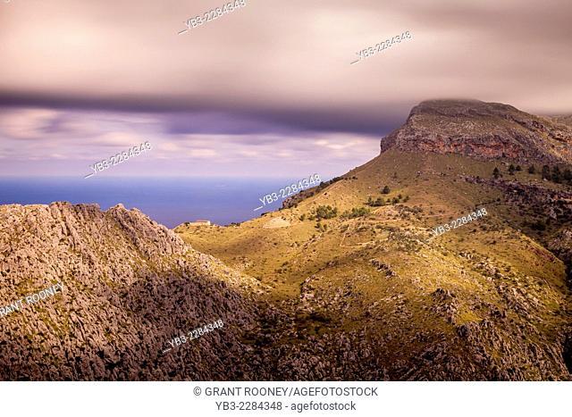 Landscape Near La Calobra, Mallorca - Spain