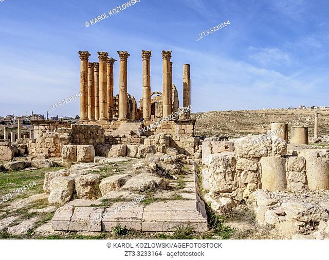 Temple of Artemis, Jerash, Jerash Governorate, Jordan